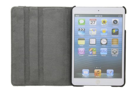 360° Draaibare Design Bookcase voor iPad Mini / 2 / 3 - Don't Touch