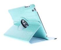 360° Draaibare krokodil Bookcase iPad 2 / 3 / 4