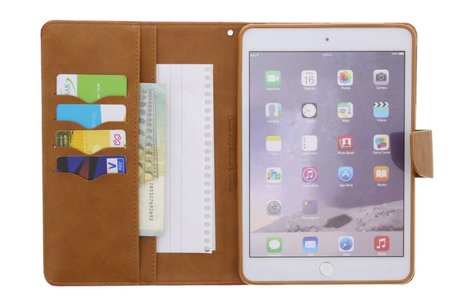 Mercury Goospery Canvas Diary Booktype voor iPad Mini / 2 / 3 - Groen