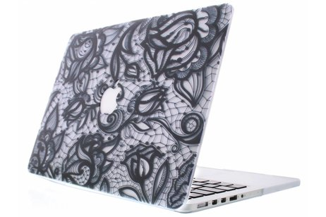 MacBook Air 13.3 inch hoesje - Design Hardshell Cover voor