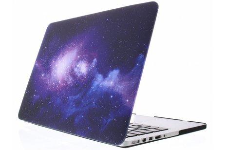 MacBook Pro 13.3 inch hoesje - Design Hardshell Cover voor