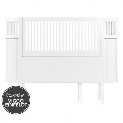 Sebra Sebra bed white wood