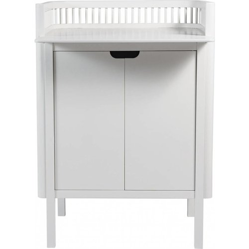 Sebra Sebra changing unit with doors white wood
