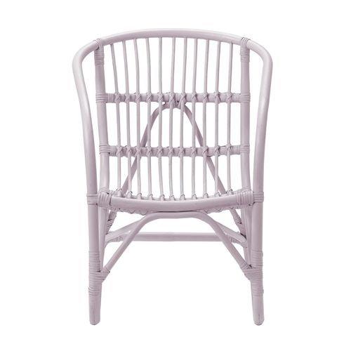 Bloomingville Mini Charlotte rattan chair pink
