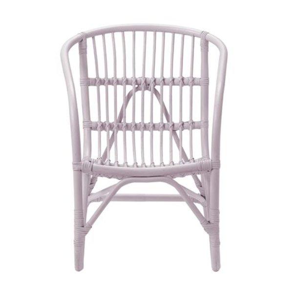Charlotte rotan stoel roze