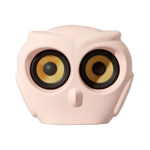 Kreafunk aOwl bluetooth speaker pink
