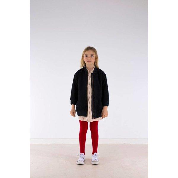 Woolen coat dark navy