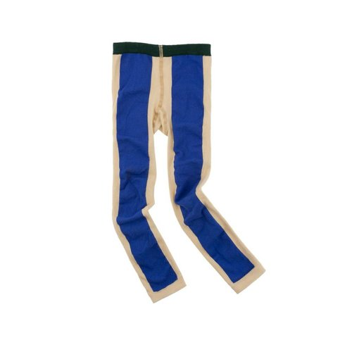 Tinycottons Long line legging beige/blauw