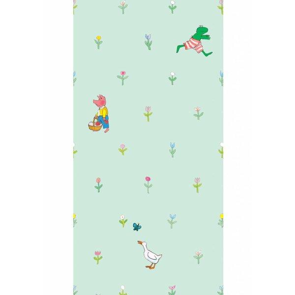 Kikker wallpaper green