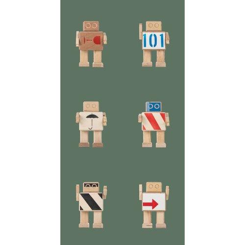 KEK Amsterdam Rijkswachters Robot Behang army