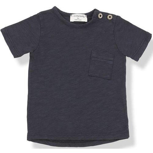 1+ in the Family Judd Short Sleeve Blu Notte shirt