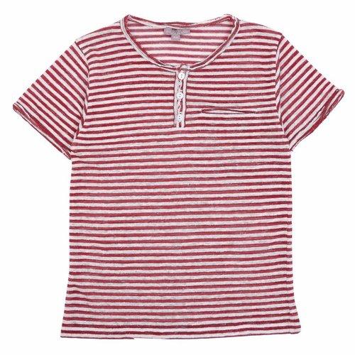 Emile et Ida Tee Shirt Brique Ecru