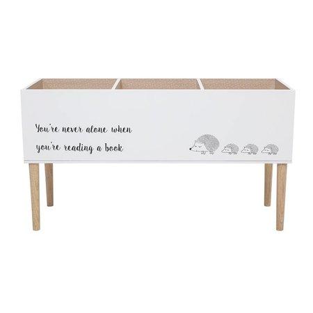 Bloomingville Mini Bookcase White