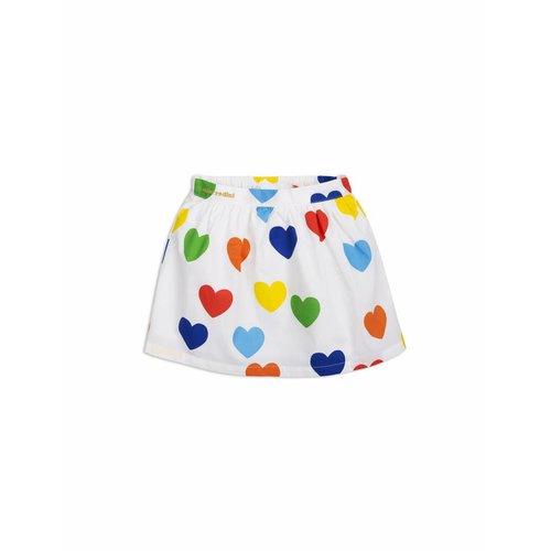 Mini Rodini Rainbow Love Woven Skirt