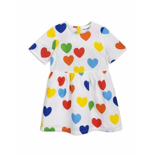 Mini Rodini Rainbow Love Woven Dress