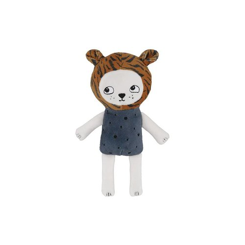 Soft Gallery Baby Tiger Orion Blue knuffel