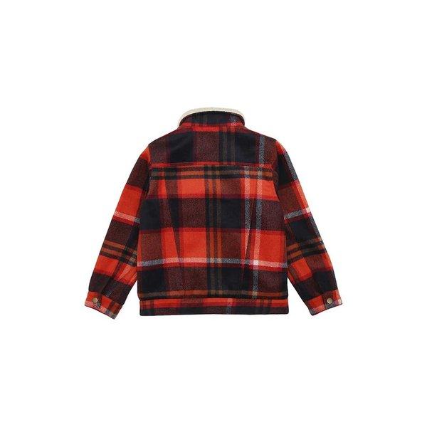 Bayou Kaclet Check Wool jas