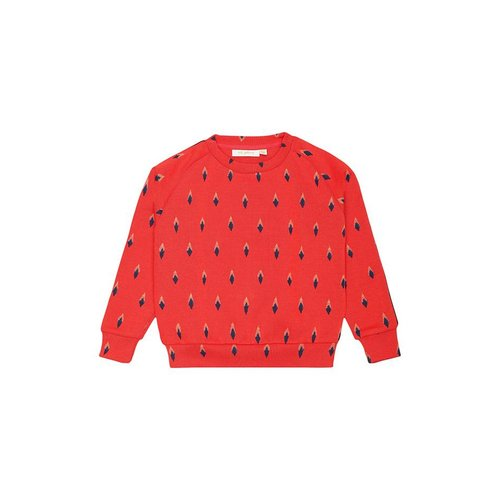 Soft Gallery Bex Sweatshirt Arrowtips Mars Red trui