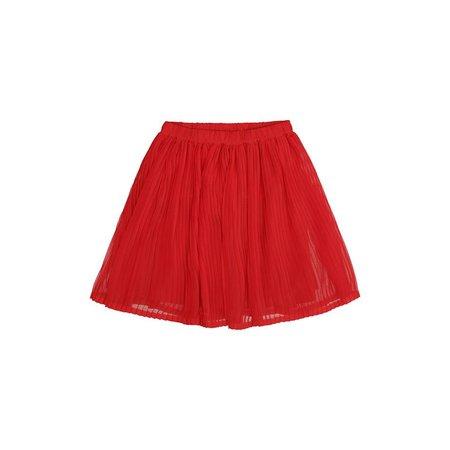Soft Gallery Mandy Skirt Mars Red rok