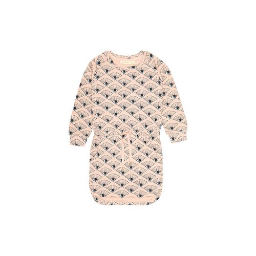 Soft Gallery Elsa Dress Eyefan Rose Cloud jurk