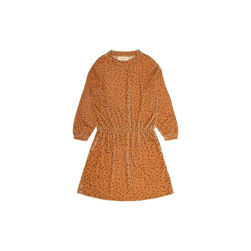 Soft Gallery Bonnie Dress AOP Dotties Golden Yellow