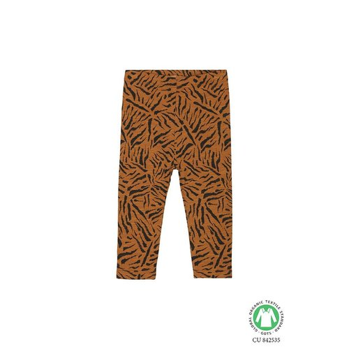 Soft Gallery Paula Leggings AOP Tigre Small Buckthorn Brown