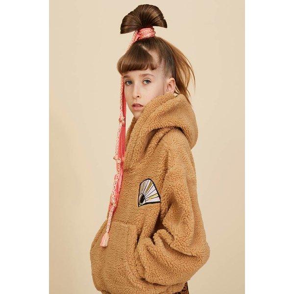 Bogie Hoodie Eyefan P Teddy Camel trui