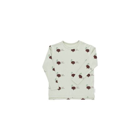 Tinycottons Shy Beetroot LS Relaxed tee shirt