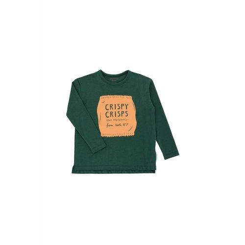 Tinycottons Crispy Crisps Graphic tee shirt