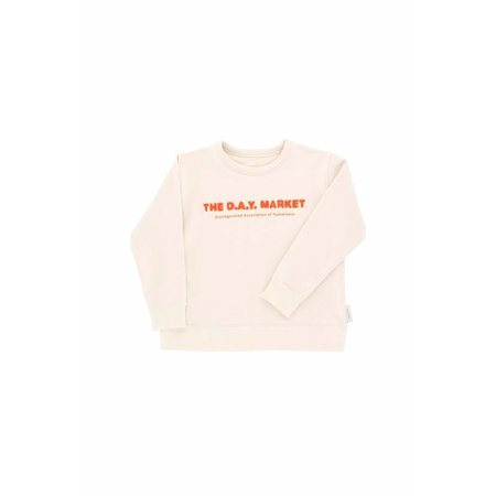 Tinycottons The Day Market Graphic Sweatshirt trui