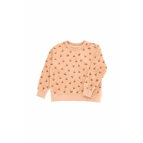 Tinycottons Small Cherries Towel Sweatshirt trui