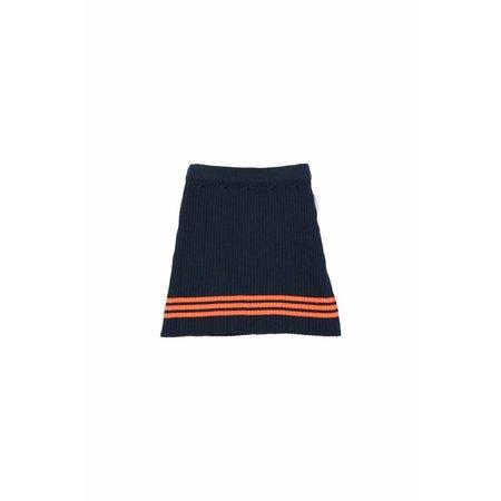 Tinycottons Rib Skirt Navy rok