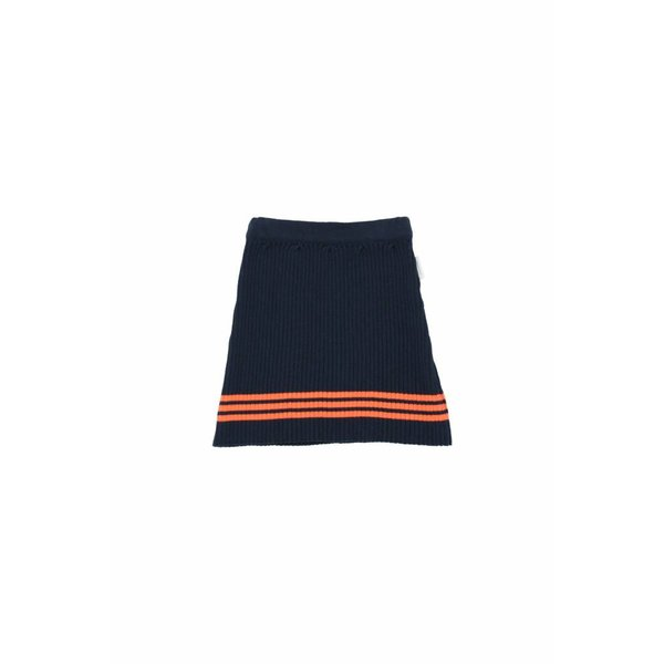 Rib Skirt Navy rok