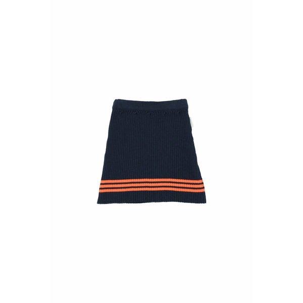 Rib Skirt Navy