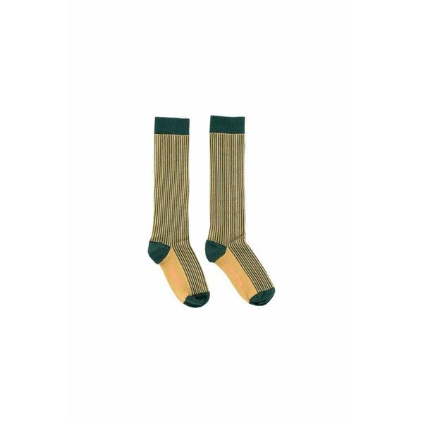 Multi Lines High Socks