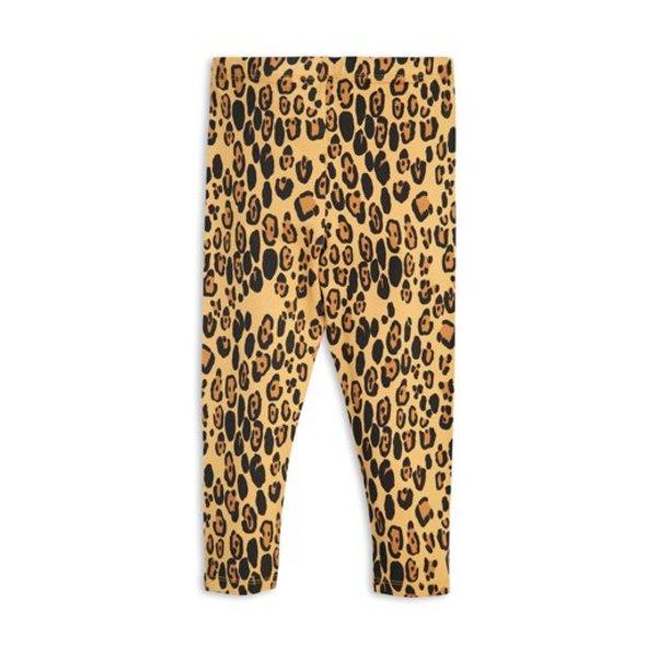 Basic Leopard Leggings beige