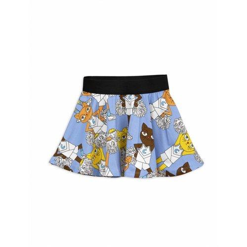 Mini Rodini Cheercats Blue Skirt rok
