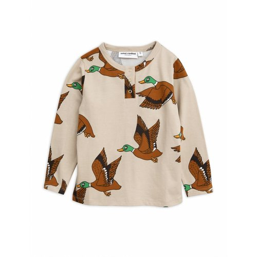 Mini Rodini Ducks AOP Grandpa longsleeve