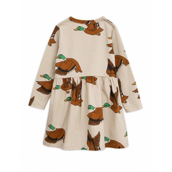 Ducks AOP LS Dress jurk