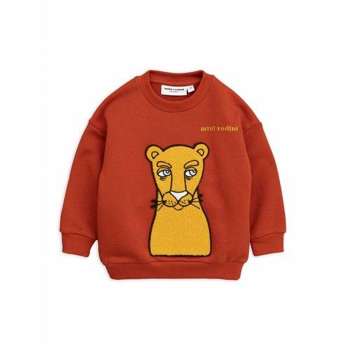 Mini Rodini Cat Patch Sweatshirt trui