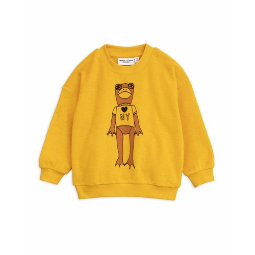 Mini Rodini Frog SP Terry sweatshirt trui