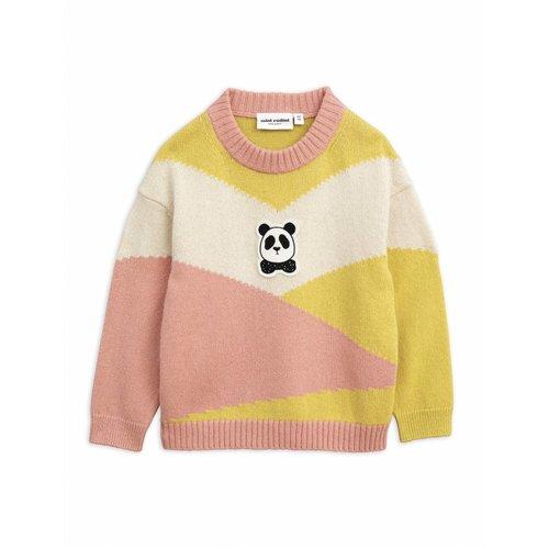 Mini Rodini Panda Knitted Wool Pullover trui