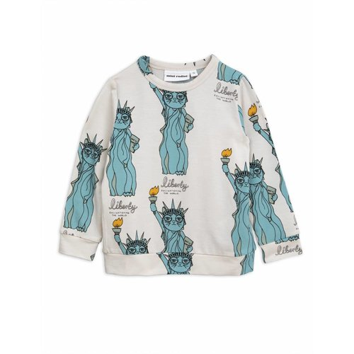Mini Rodini Liberty AOP LS Tee