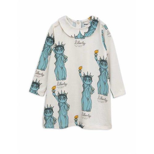 Mini Rodini Liberty AOP Collar Dress jurk