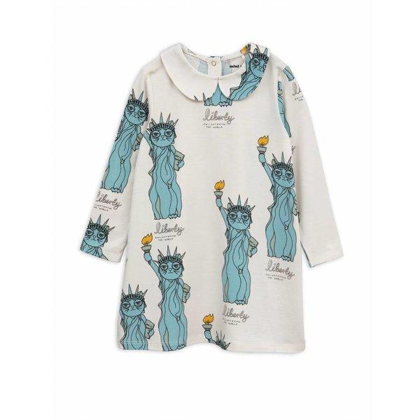 Liberty AOP Collar Dress