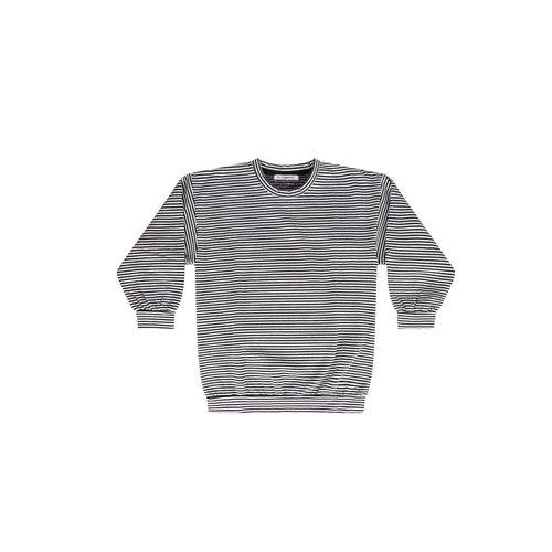 MINGO Sweater B/W Stripes
