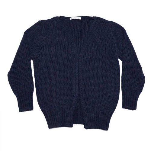 MINGO Cardigan Black Iris vest