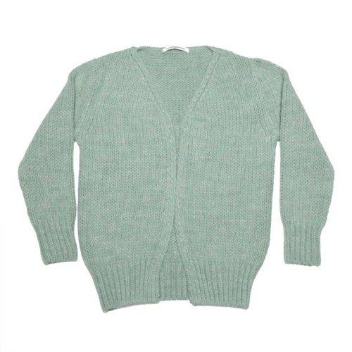 MINGO Cardigan Duck Green vest