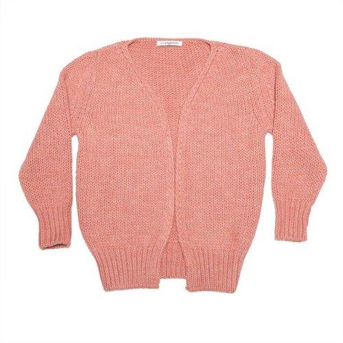 MINGO Cardigan Raspberry vest