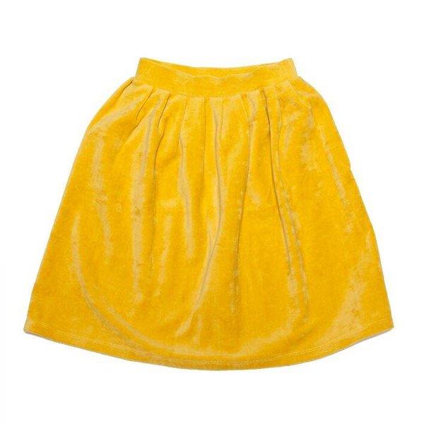 Velvet Skirt Sauterne rok